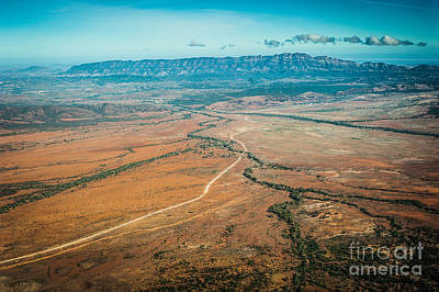 Photograph - Outback Flinders Ranges by Ray Warren