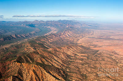 Photograph - Outback Ranges by Ray Warren