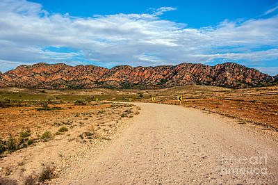 Photograph - Outback Road by Ray Warren