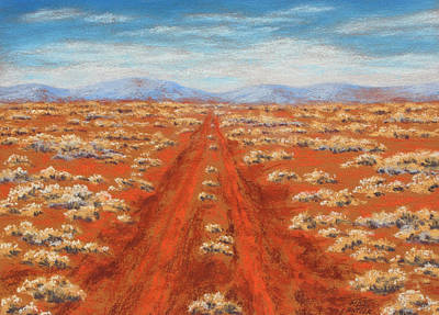 Painting - Outback Track by David Clode