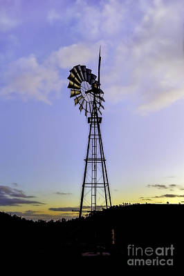 Photograph - Outback Windmill by Ray Warren
