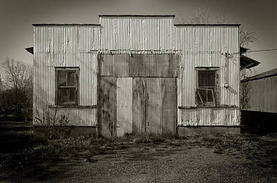 Photograph - Outbuilding by Bud Simpson