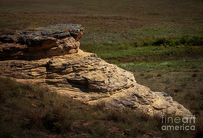 Photograph - Outcrop by Fred Lassmann
