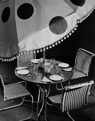Tableware Photograph - Outdoor Furniture by Peter Nyholm & John Phillips