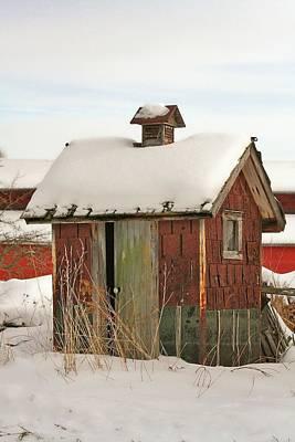 Outdoor Plumbing In The Winter Original