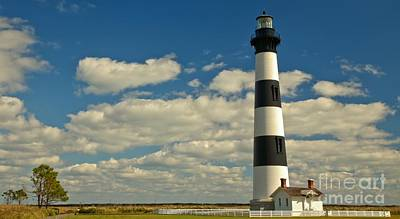 Photograph - Outer Banks Bodie Island Lighthouse by Adam Jewell