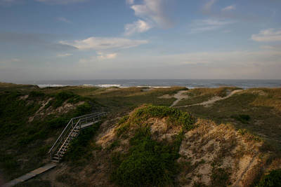 Photograph - Outer Banks Dunes by Ben Shields