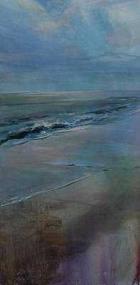 Painting - Outer Banks Morning by Susan Bradbury