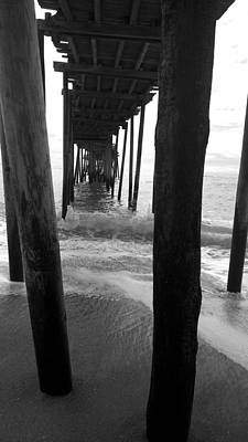 Photograph - Outer Banks Nc Avon Pier On Hatteras Island by Kelly Hazel