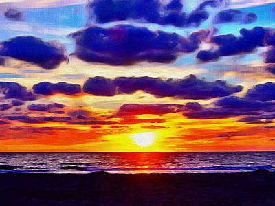 Outer Banks Sunrise Art Print