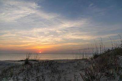 Outer Banks Sunrise Art Print by Gregg Southard