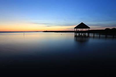 Photograph - Outer Banks Sunset by Brenda Schwartz
