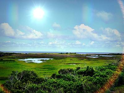 Photograph - Outer Banks Tranquility by Chris Montcalmo