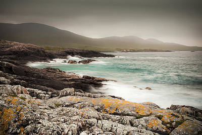 Outer Hebrides Waves Art Print by Ray Devlin