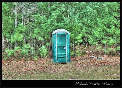 Photograph - Outhouse by Michaela Preston