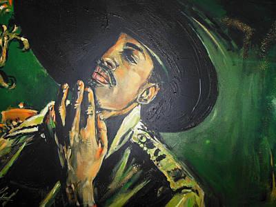Hiphop Painting - Outkast - Andre 3000 by Lucia Hoogervorst