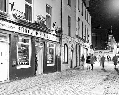 Photograph - Outside A Pub On The High Street In Galway Ireland by Mark E Tisdale