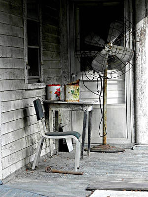 Wall Art - Photograph - Outside Air-conditioning by Mickey Murphy