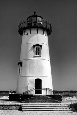 Photograph - Outside Edgartown Lighthouse by Mark Miller