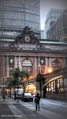 Photograph - Outside Grand Central Station  by Debra Forand