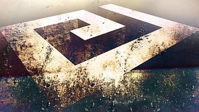 Digital Art - Outside Limits Bw by Florin Birjoveanu