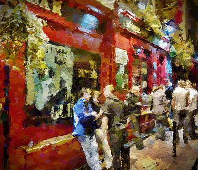Temple Bar Digital Art - Outside Of Temple Bar by Yury Malkov