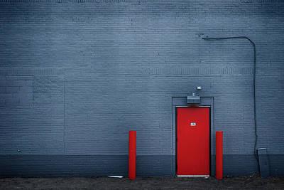 Outside The Building - Urban Minimalism Art Print by Nikolyn McDonald