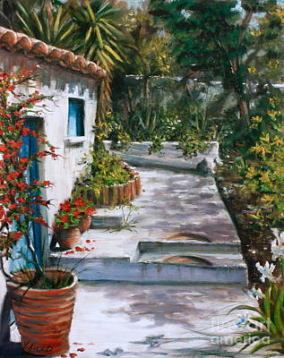Painting - Outside The Studio by Yvonne Ayoub