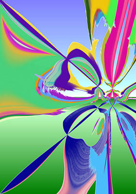 Digital Art - Outside With Sbux by Stephen Coenen