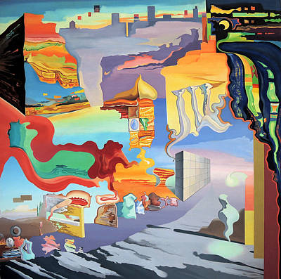 Uic Painting - Outskirts Of Uic by Ben Sapia