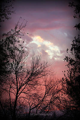 Photograph - Outstanding Oklahoma Sunset by Jeanette C Landstrom