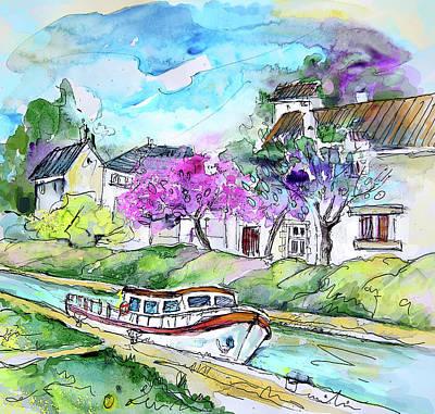 Ouzouer Sur Trezee In France 01 Art Print by Miki De Goodaboom