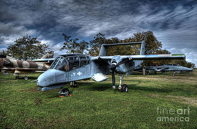 Force Photograph - Ov 10 Hdr by Hilton Barlow