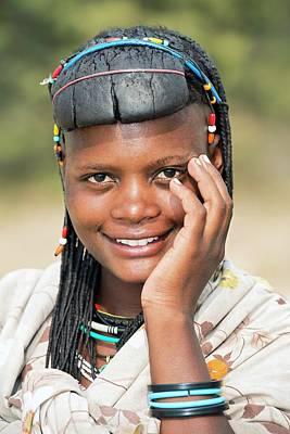 Tribal Photograph - Ovazimba Woman by Tony Camacho