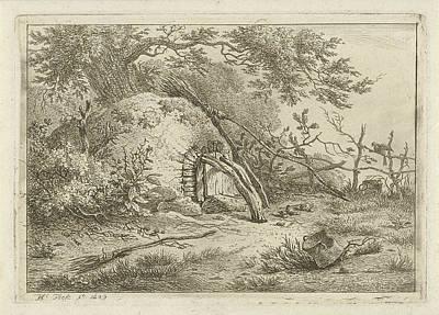 Oven With Brooms, Hermanus Fock Art Print by Artokoloro