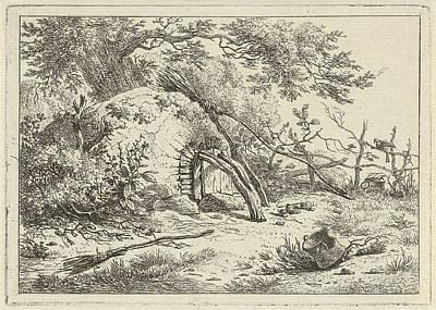 Oven With Brooms, Hermanus Fock Art Print by Hermanus Fock