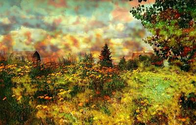 Over In The Meadow 1 Print by Shirley Sirois