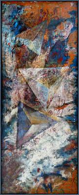 Painting - Over Pyramids by Florin Birjoveanu