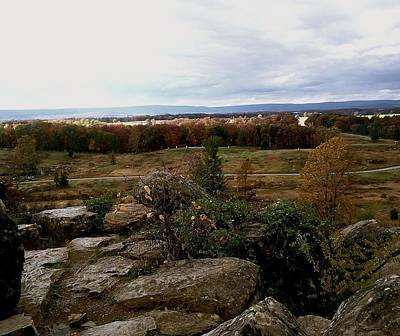 Photograph - Over The Battle Field Of Gettysburg by Amazing Photographs AKA Christian Wilson