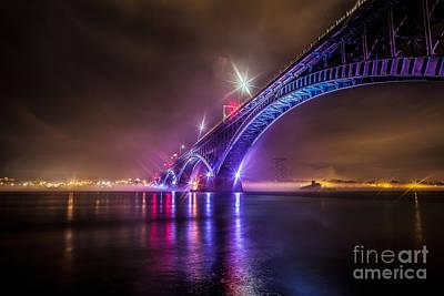 Buffalo Ny Photograph - Over The Bridge by Chuck Alaimo