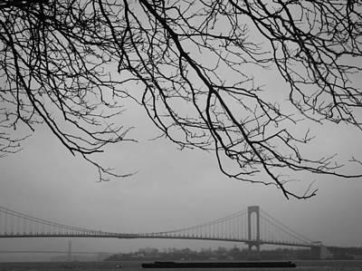 Over The Bridge Art Print by Richie Stewart