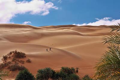 Sahara Photograph - Over The Dunes by Ivan Slosar