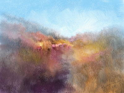 Dreamy Expression Digital Art - Over The Hill by Kume Bryant
