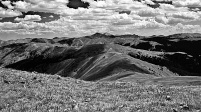 Torreys Peak Photograph - Over The Hills by Brian Kerls