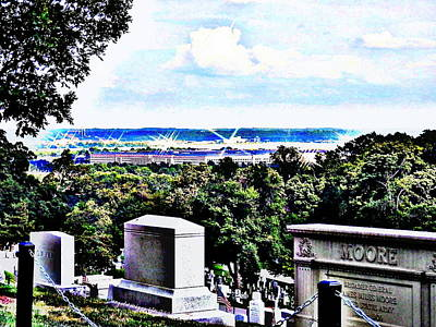 Digital Art - Over The Horizon In Arlington by Angelia Hodges Clay