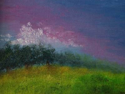 Over The Horizon Art Print by Margie Ridenour