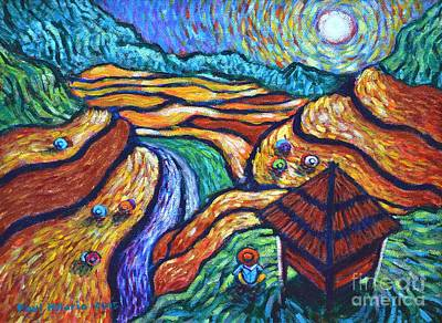 Over The Mountains Under The Sun Art Print