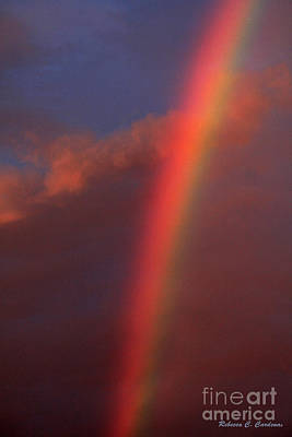 Photograph - Over The Rainbow And Beyond The Sky by Rebecca Christine Cardenas