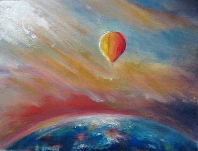 Painting - Over The Rainbow by Carrie Bennett