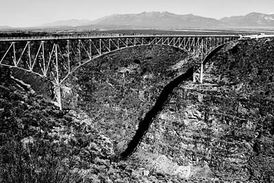 Photograph - Over The Rio Grande by Benjamin Yeager